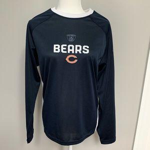Ladies Chicago Bears Long Sleeve Shirt- Size Large